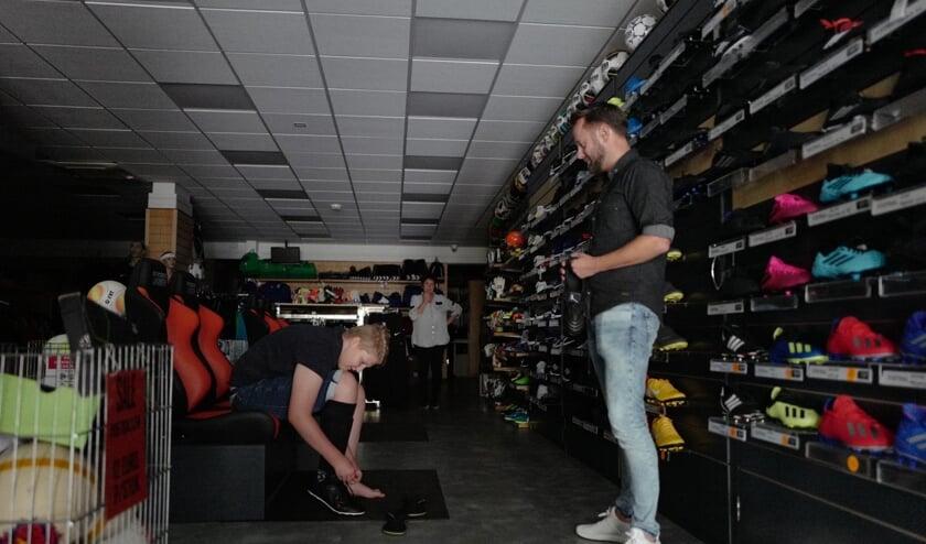 Sommige winkels konden open blijven ondanks de stroomstoring   | Fotonummer: 876f69