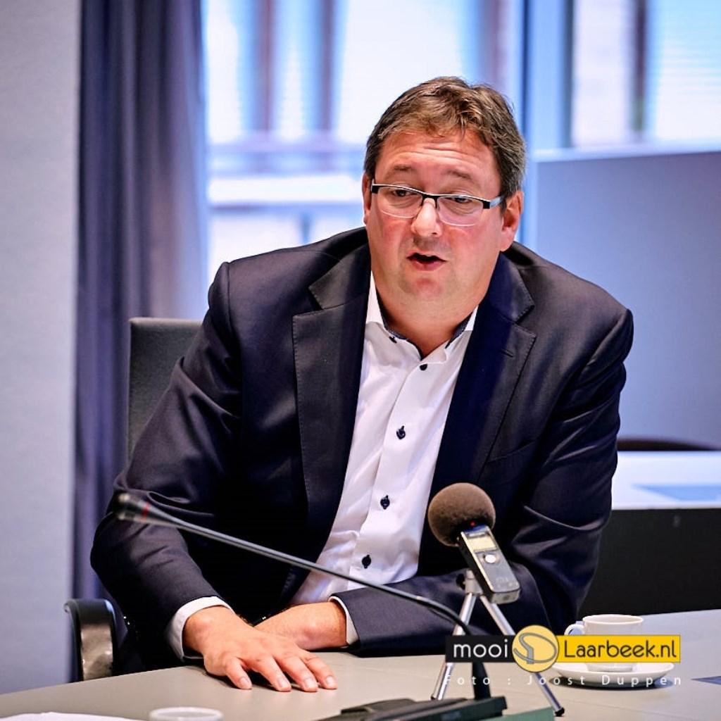 werkbezoek cda tweedekamerlid rene peters uit Oss op werkbezoek in de gemeente Laarbeek Foto: Joost Duppen © deMooiLaarbeekkrant