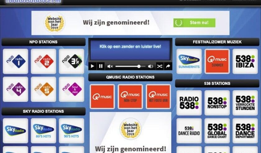 De website Radiozenders.FM van Nick en Sander   | Fotonummer: b91b1e