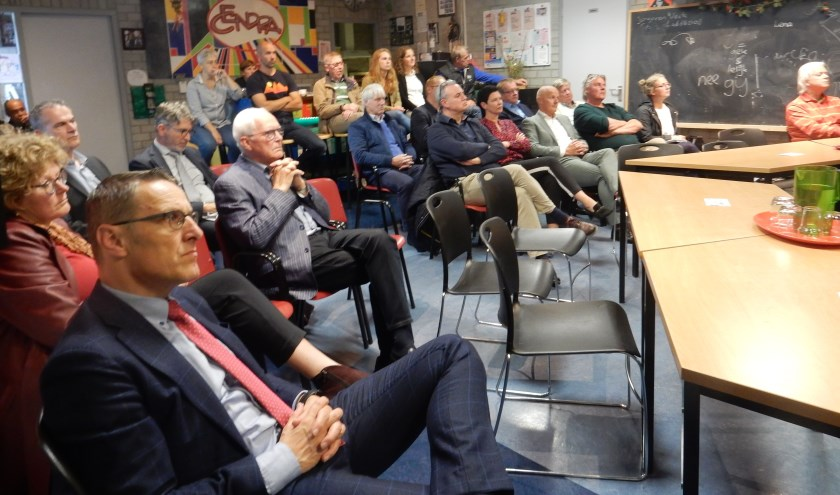 De gemeenteraad op bezoek bij Cendra   | Fotonummer: 12101e