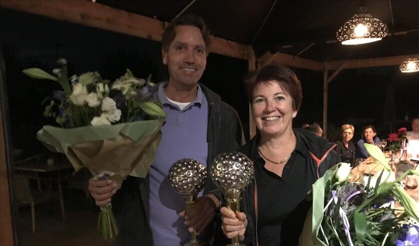 Clubkampioenen Stijn van Duppen en Mayke Luytelaar   | Fotonummer: 637ccb