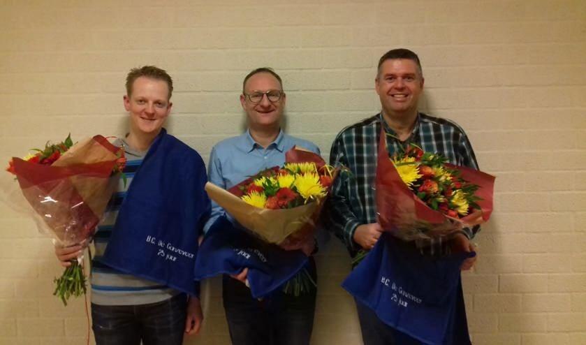 Vlnr: Sander van den Hemel, Stephan Verleisdonk en Giedo van Stiphout   | Fotonummer: 0c6d5f