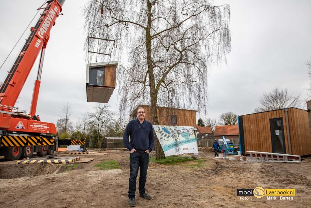 Initiatiefnemer Johan van Bakel Foto: Mark Barten © deMooiLaarbeekkrant