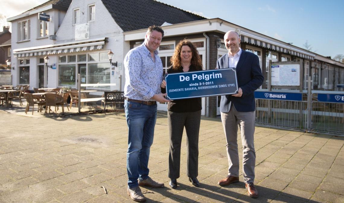 Vlnr: Danny Vos, Anita van Wijk en Robert Hellings