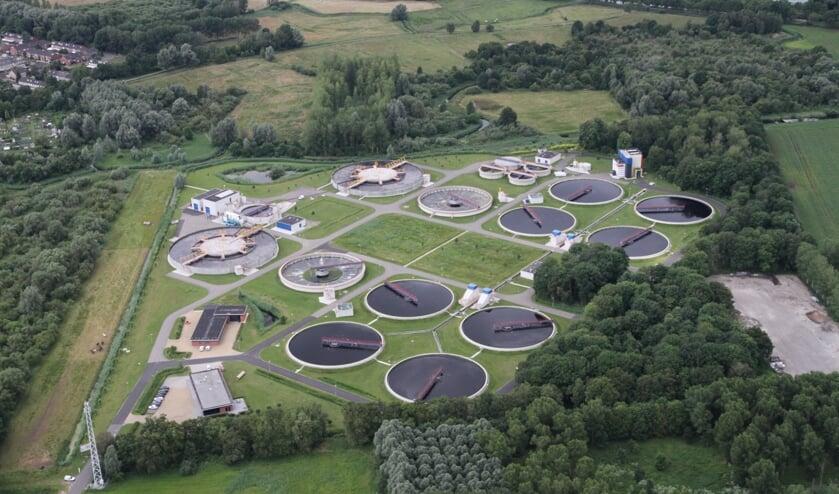 De rioolwaterzuiveringsinstallatie in Aarle-Rixtel   | Fotonummer: 863f72