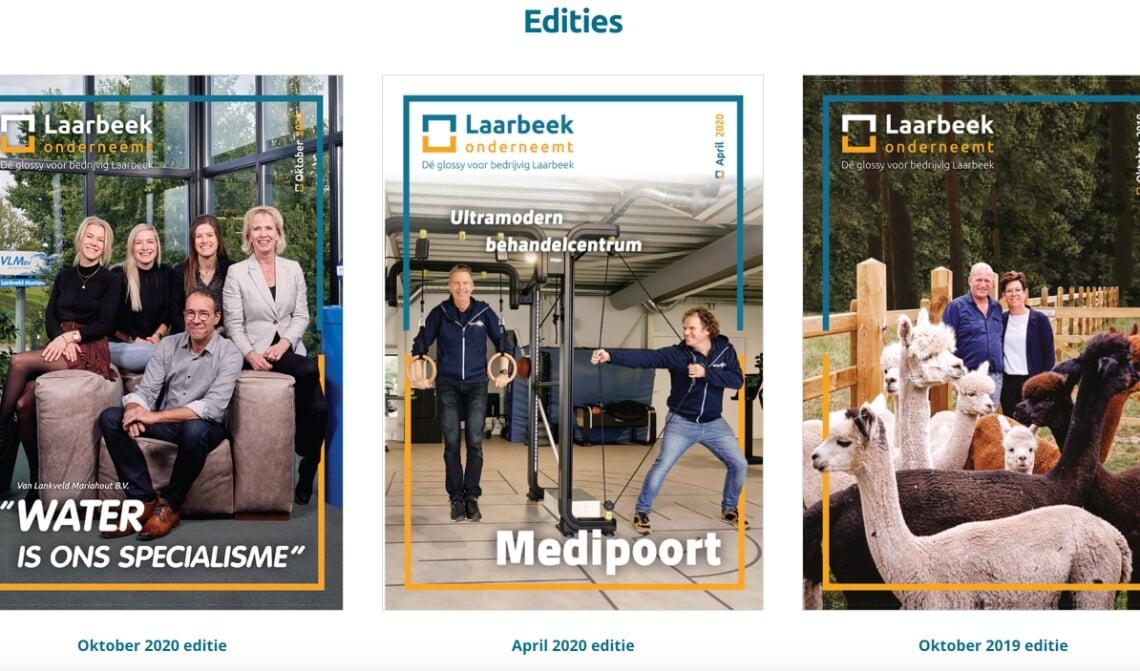 <p>Op de nieuwe website (www.laarbeekonderneemt.nl) zijn alle vorige edities te vinden.</p>