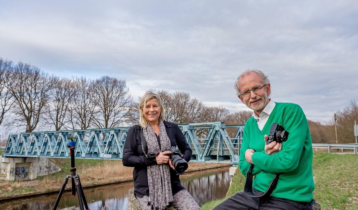 Juryleden van Het Perfecte Plaatje Laarbeek: beroepsfotografen Liesbeth van Boxtel en Joost Duppen