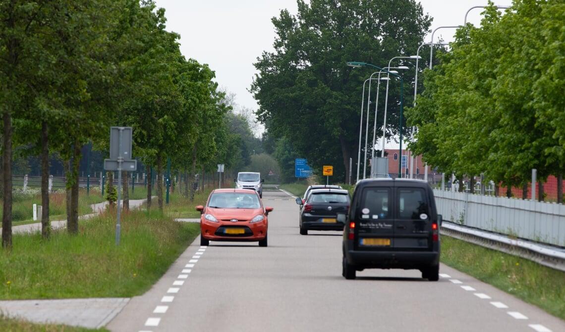 De Bosscheweg richting de Beekse brug