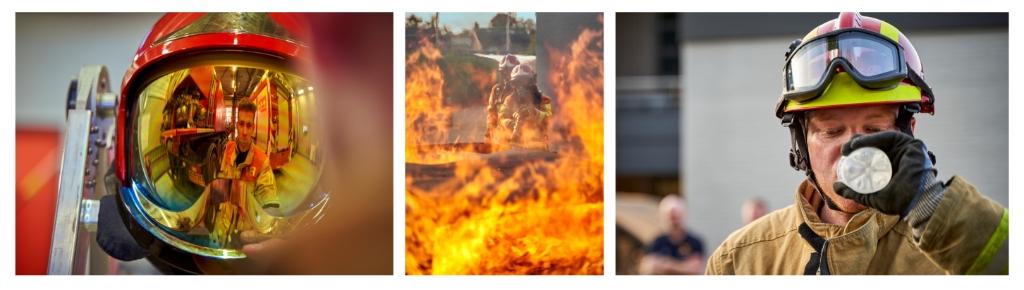 Een serie van de brandweer, gemaakt door Rob van Kaathoven Foto: Rob van Kaathoven © deMooiLaarbeekkrant