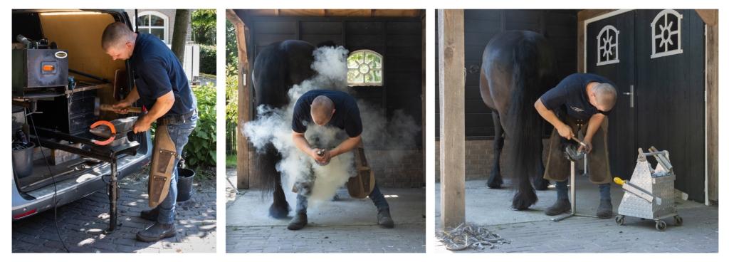 De hoefsmid, serie gemaakt door Jeroen Segers Foto: Jeroen Segers © deMooiLaarbeekkrant