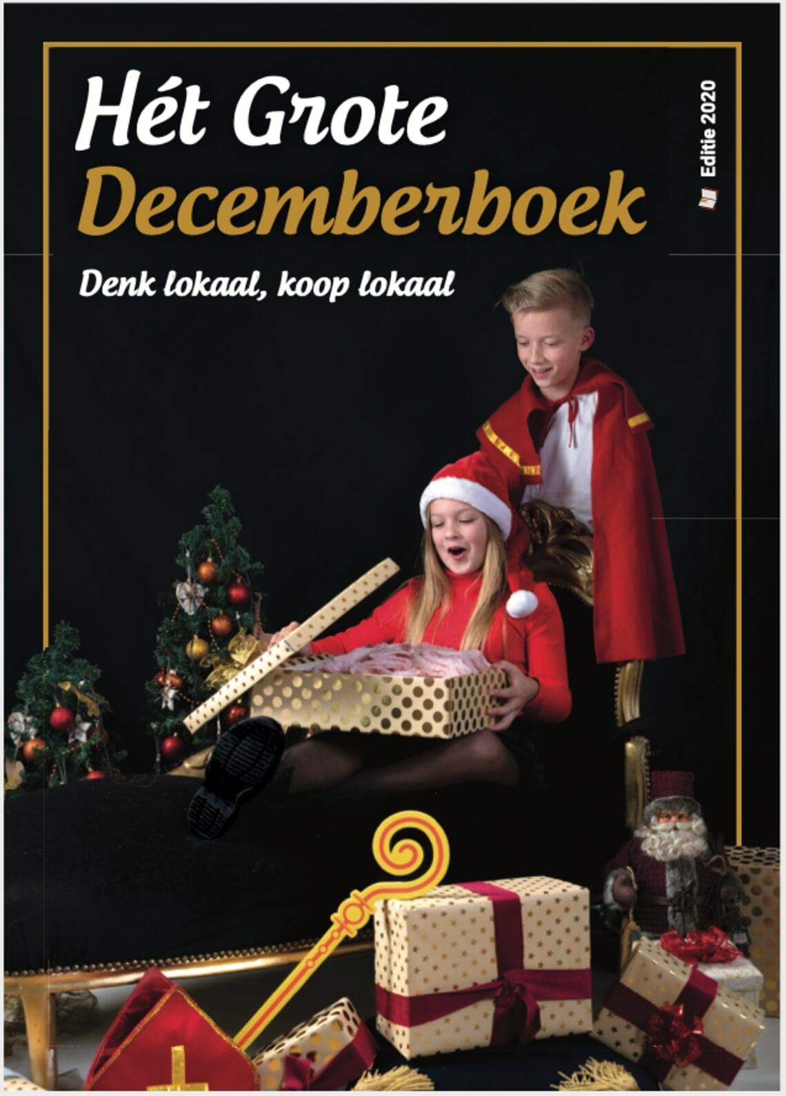 <p>De cover van H&eacute;t Grote Decemberboek 2020</p>