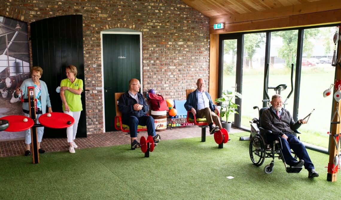 De nieuwe beweegtuin van zorgboerderij Liesvelden.