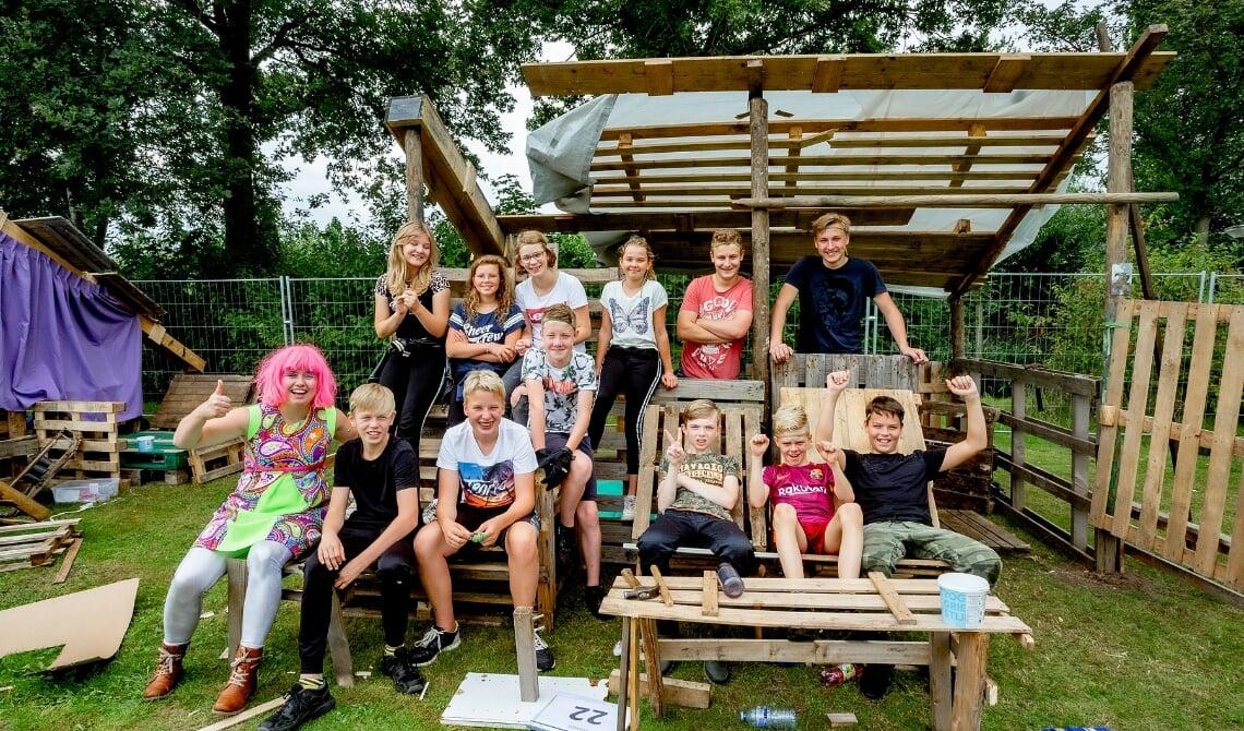 Kindervakantieweek in Lieshout.