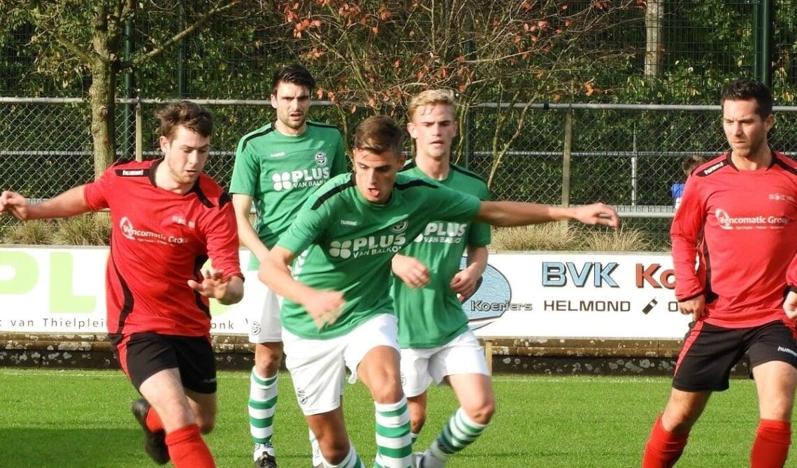 Rick van Heijnsbergen maakte afgelopen zaterdag twee doelpunten.