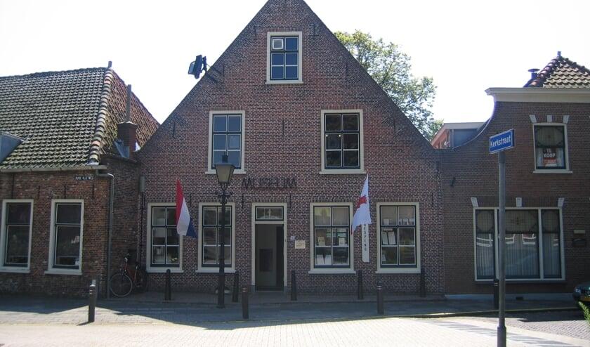Het museum van het Genootschap Oud Rijnsburg aan de Oude Vlietweg 6.