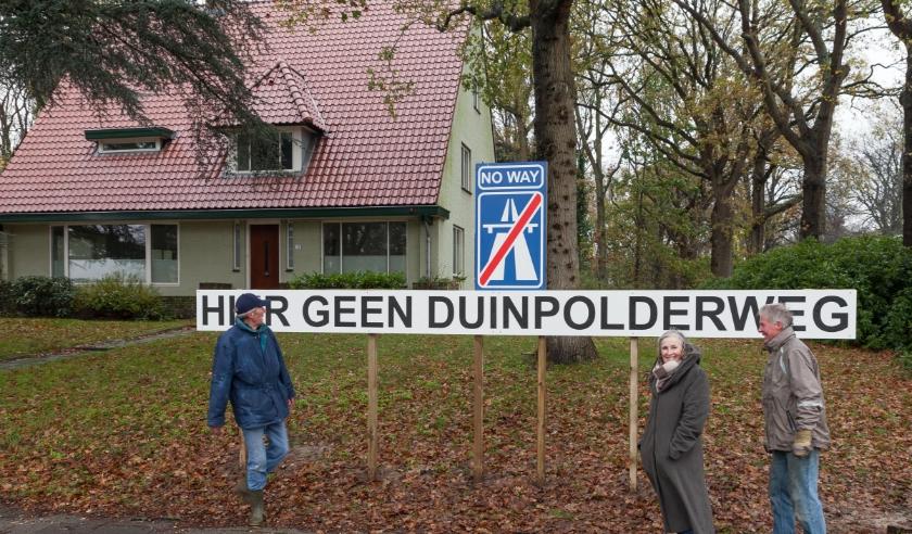 Het project Duinpolderweg kent - zoals elk project - ook tegenstanders in zowel Zuid- als Noord-Holland.
