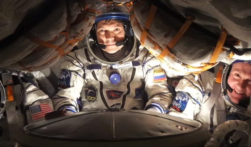 André Kuijpers vertelt over leven in de ruimte.   Foto: PR