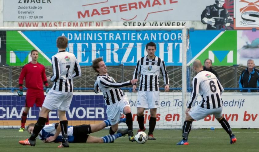 Timo Ruigrok aan de bal. | Foto: Johanna Wever