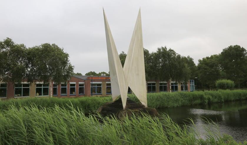 <p>In alle wijken van Oegstgeest staat wel een beeldend kunstwerk in de openbare ruimte, ook in Haaswijk.   Archieffoto Wil van Elk</p>