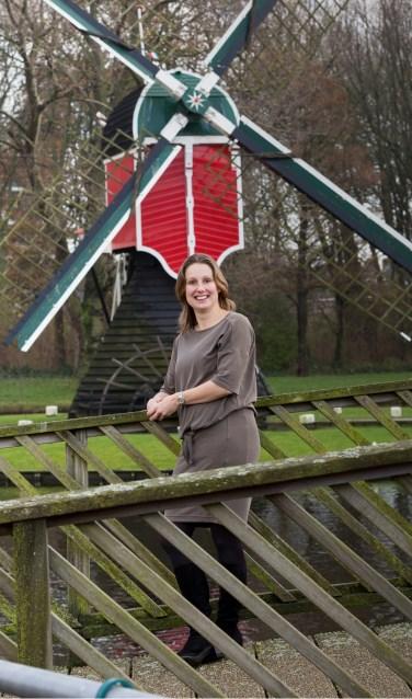 Agnes Kerckhoffs is de nieuwe Dorpsmarketeer Oegstgeest. | Foto WIl van Elk