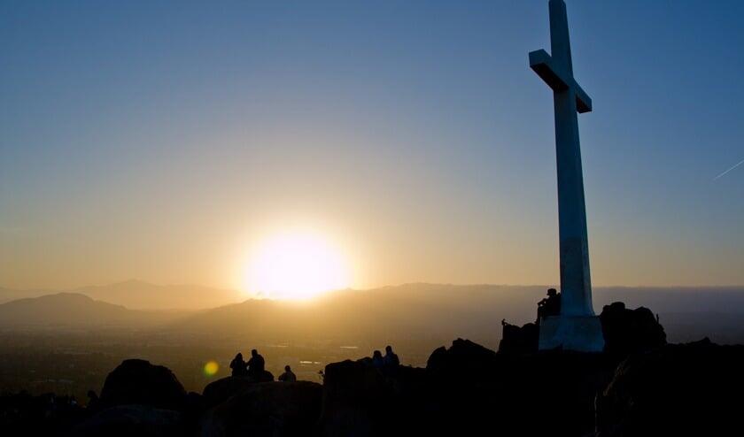 De Paasjubel wordt traditiegetrouw gehouden in de vroege ochtend van Eerste Paasdag.