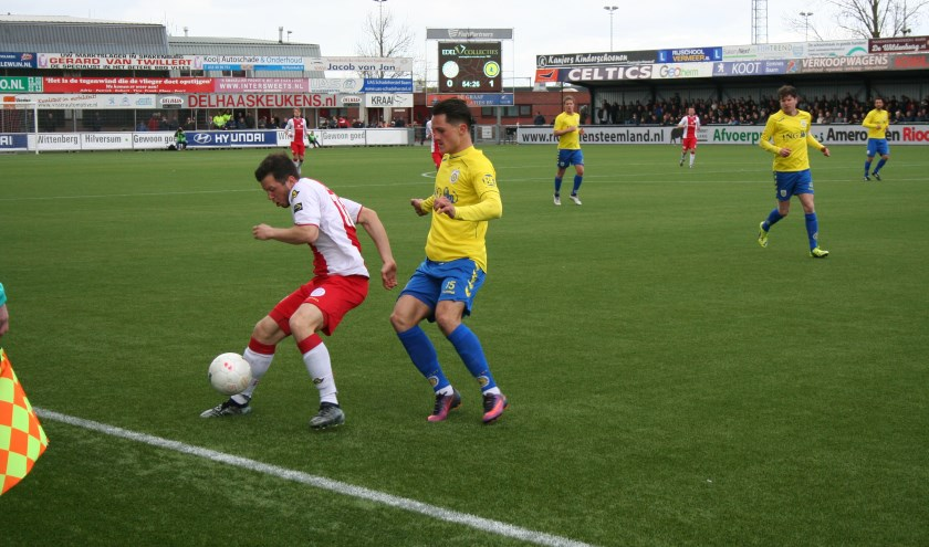 IJsselmeervogels kwam niet voorbij aan FC Lisse.