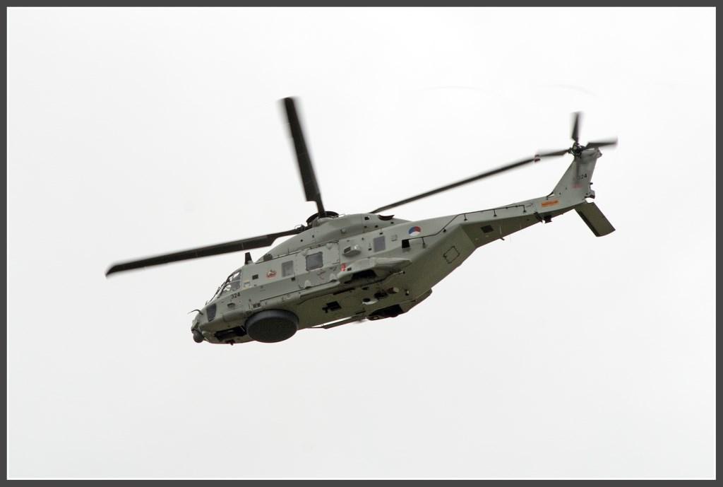 Een NH90 van de Koninklijke Marine Foto: Anko Lubach © uitgeverij Verhagen