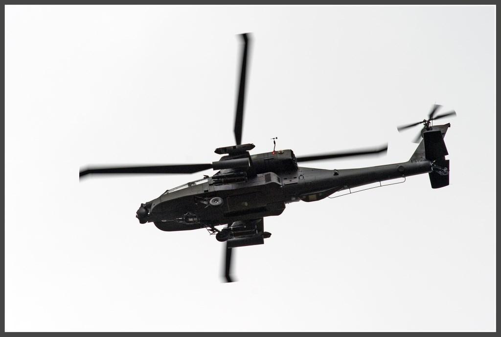 Apache AH-64D Foto: Anko Lubach © uitgeverij Verhagen