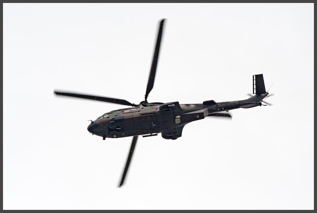 Gevechtshelicopter van het type AS 532 Cougar.   Foto: Anko Lubach © uitgeverij Verhagen