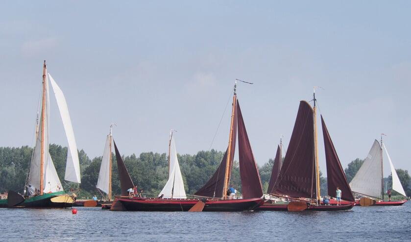 Op zaterdag wordt een beurtveerwedstrijd op de Kagerplassen gevaren. Op zondag gaat het om de snelheid. | Foto: pr.