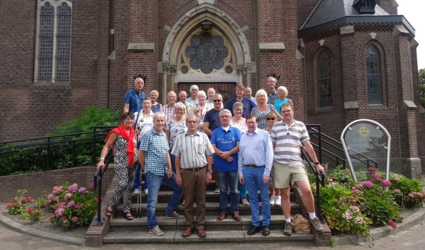 De vrijwilligers van de stichting Boerhaavehuis worden jaarlijks getrakteerd op een uitje als dank voor hun inzet. | Foto: pr.