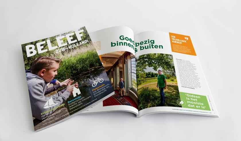 Iedereen in Zuid-Holland kan het magazine van Erfgoedhuis Zuid-Holland en het Zuid-Hollands Landschap gratis ontvangen.