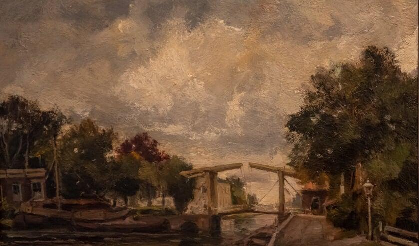 Een schilderij van J.C. Roelandse.
