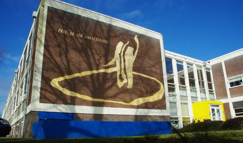 Het huidige gebouw van de Leo Kannerschool (Voortgezet Speciaal Onderwijs) aan de Hazenboslaan. | Archieffoto Willemien Timmers