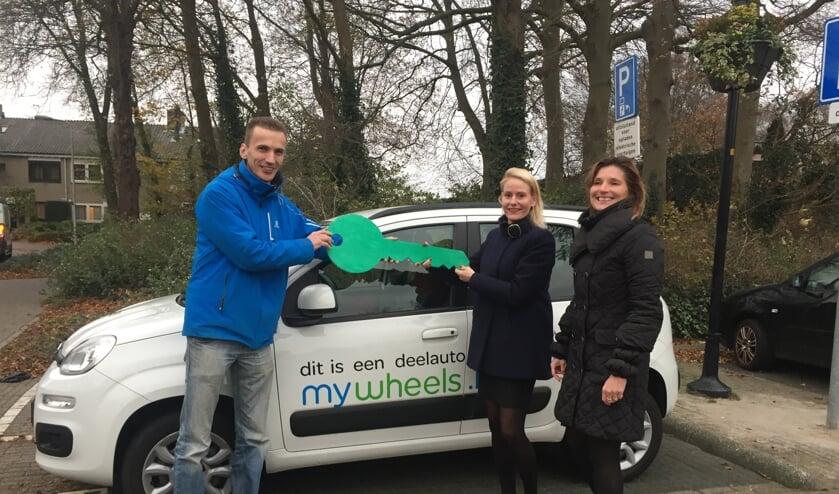 Anderhalf jaar geleden kreeg Lisse een parkeerplaats voor deelauto's, op verzoek van Martin van Blitterswijk.