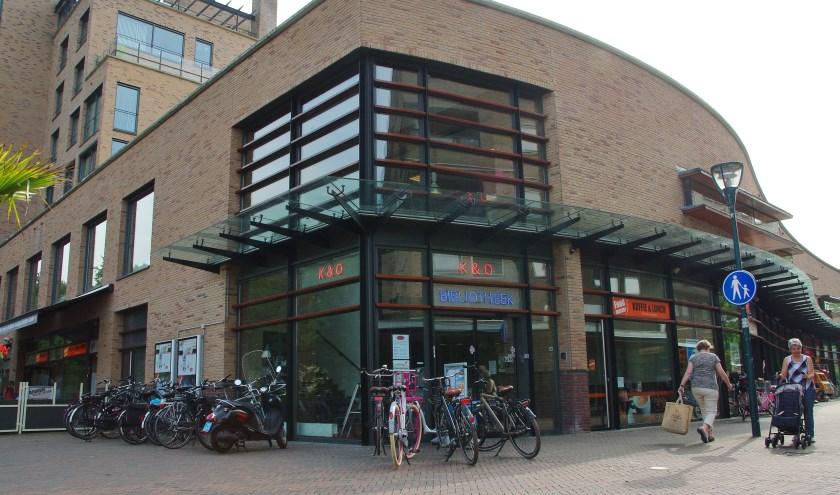 De Oegstgeester bibliotheek. | Archieffoto Willemien Timmers