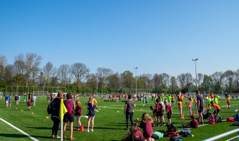 Een sport- en speldag op de RCL velden in 2018.