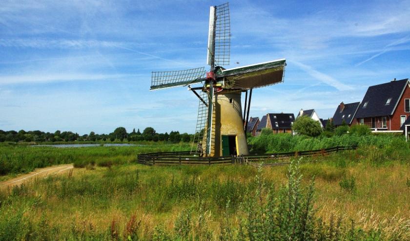 Ook de molens in Oegstgeest kunnen profiteren van de subsidieregeling. | Archieffoto