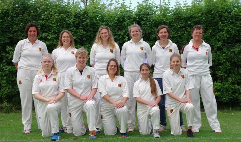 Ajax Cricket Dames 1. | Foto Website ASC
