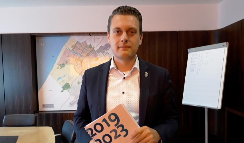 Wethouder Adger van Helden.