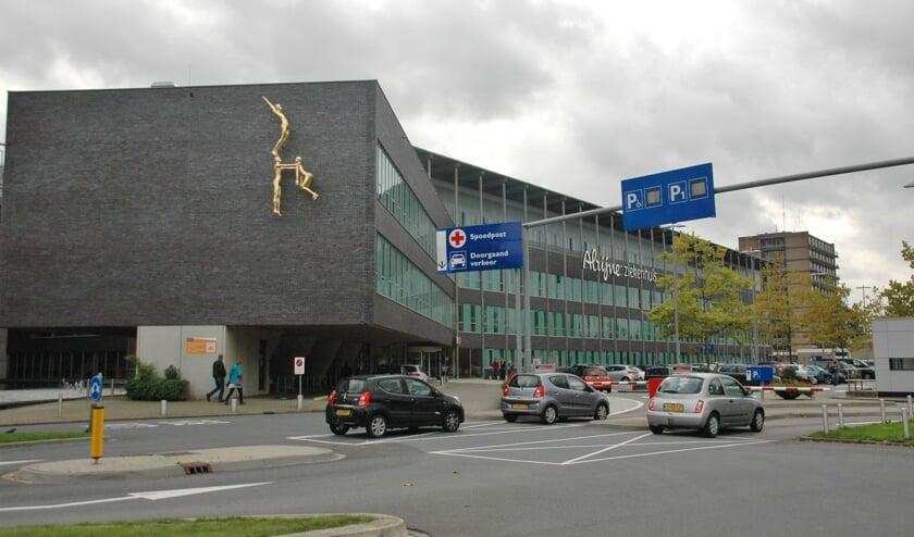 De Leiderdorpse vestiging van Alrijne Ziekenhuis.