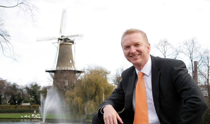Robert Strijk in zijn Leidse periode. Foto: Peter van Evert.