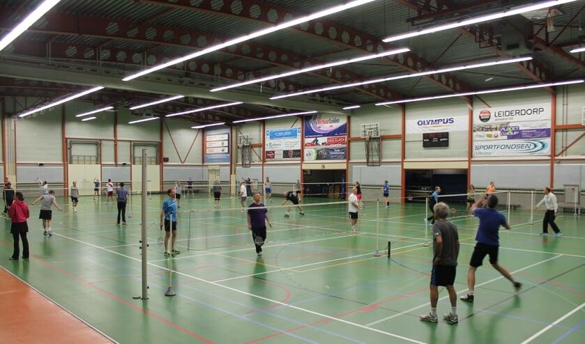 <p>De Spotvogels traint onder meer in sporthal De Bloemerd.&nbsp;</p>