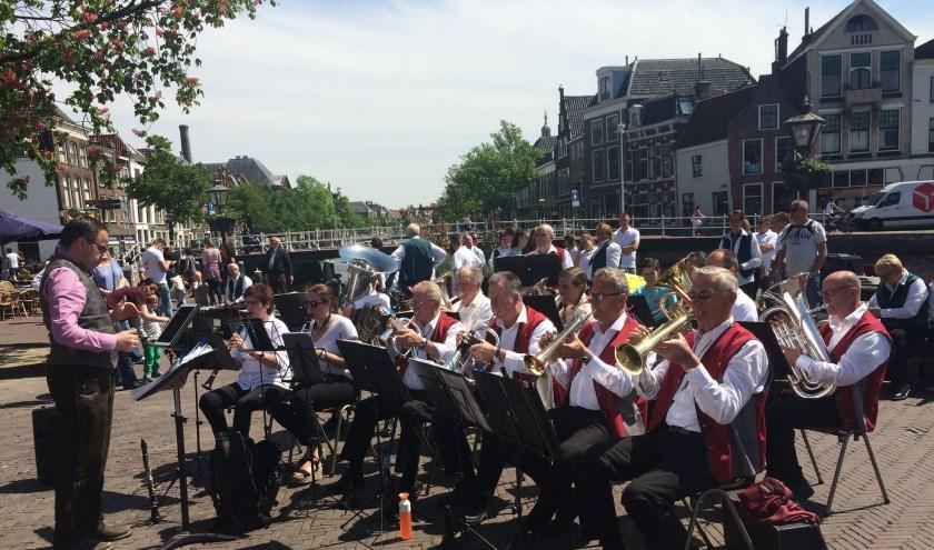 De Schlüsselstädter Musikanten uit Leiden spelen 20 oktober op uitnodiging van de werkgroep Zondag Open  Egerländermuziek in De Beukenhof.