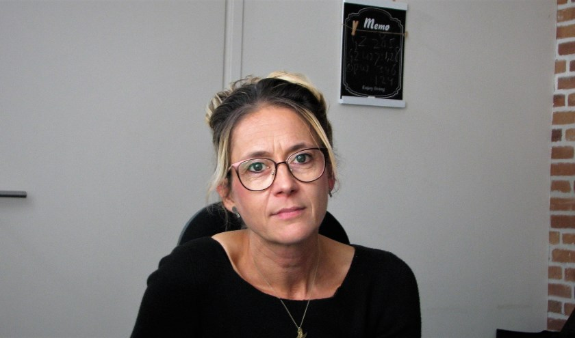 Ds. Arenda Haasnoot.