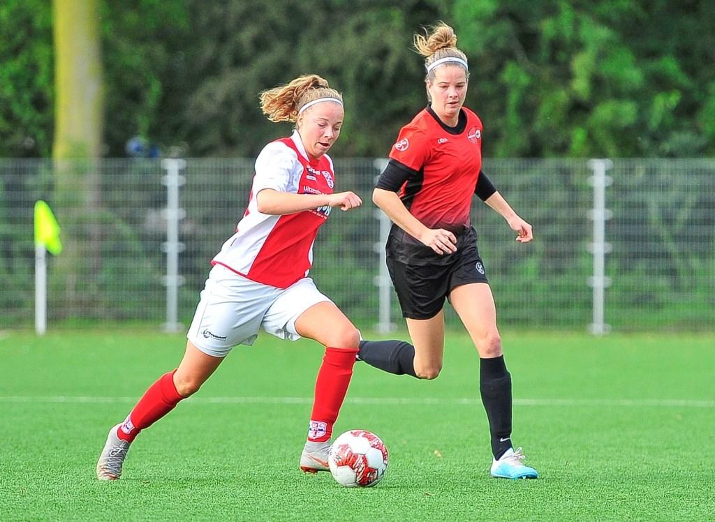 Susanne Hoogenboom is Shanon Molleman te vlug af.  © uitgeverij Verhagen