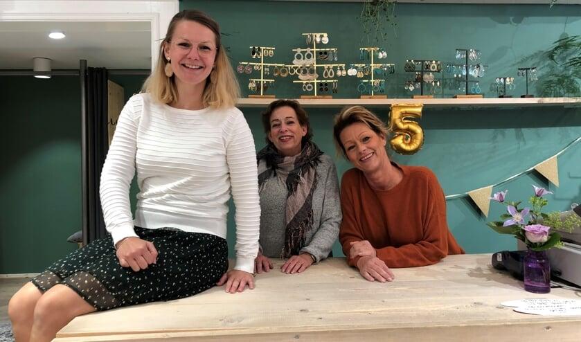 Wendy, Anja en Saskia hebben een nieuwe draai aan de winkel gegeven. | Foto: PR