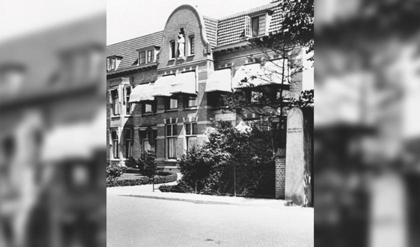 Huize St-Joseph, uitsnede. Foto: archief SVvOH
