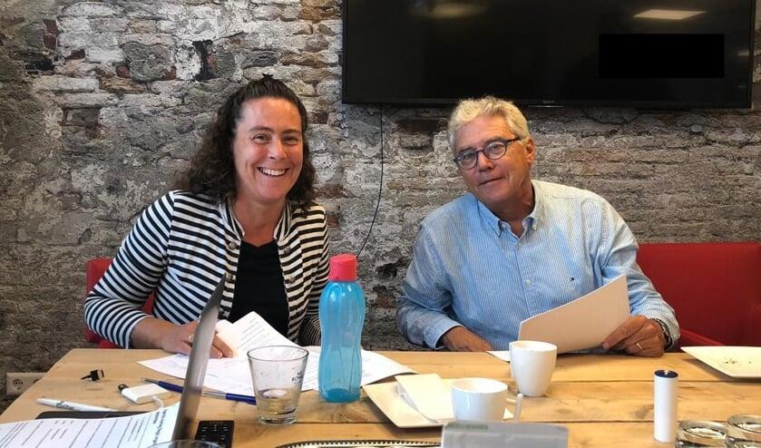 Carola van Maris (links) en Frans Zonneveld zien veel voordelen aan de samenwerking. | Foto: pr