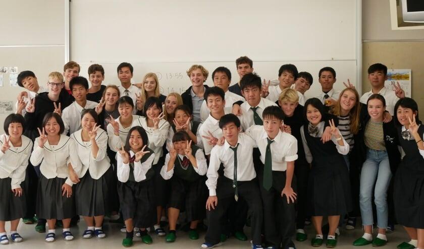 Mata-Ne! Tot januari 2020! Dan komen de Japanse leerlingen naar Noordwijkerhout. | Foto: pr